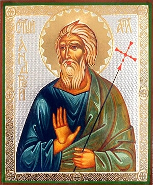 Religious Orthodox icon: Holy Apostle Andrew the First Called - 1