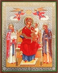 Religious Orthodox icon: Theotokos the Oeconomissa