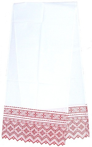 Embroidered Roushnik (towel) Rus'