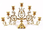 Seven-branch table candelabrum (large)
