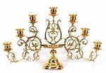 Seven-branch table candelabrum (large)