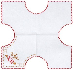 Embroidered Paschal napkin - 8861