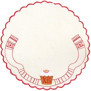 Embroidered Paschal napkin - 9271