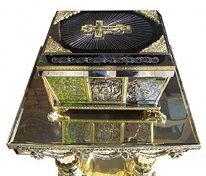 Jewelry reliquary (for 16 relics)