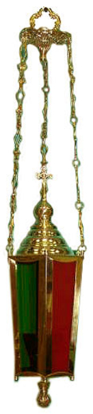 Hanging Paschal church lamp