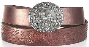 Orthodox leather belt Jerusalem
