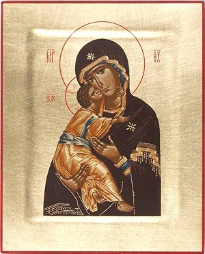 Religious icons: Most Holy Theotokos of Vladimir