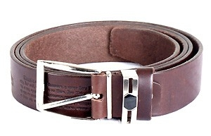Leather belt - Plain