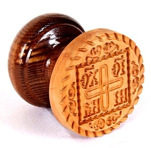 Russian Orthodox prosphora seal NIKA seal no.8 (Diameter: 2.4'' (60 mm))