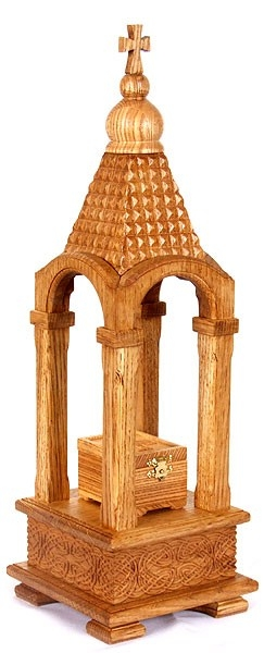 Wooden carved Tabernacle - 1