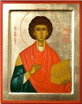 Byzantine icon: Holy Great Martyr and Healer Pantheleimon