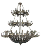 Three-level church chandelier - 11