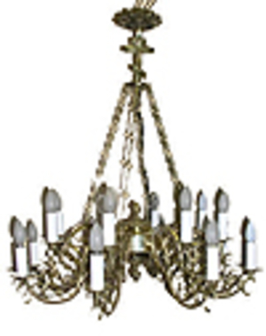 One-level church chandelier - 15