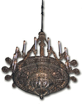 Church chandelier (horos) - 16