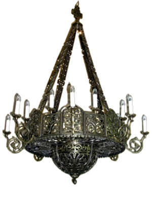 Church chandelier (horos) - 17