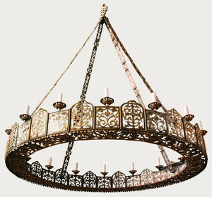 Church chandelier (horos) - 21