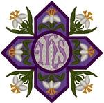 Vintage Ecclesiastical Design 728 embroidered applique