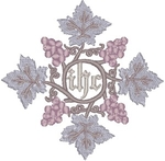 Vintage Ecclesiastical Design 291 embroidered applique