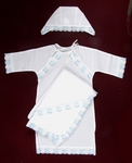 Sasha embroidered baptismal clothes for boys