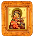 Icon cases: Ajur carved icon case