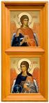 Icon cases: Double vertical Simple icon case (kiot)