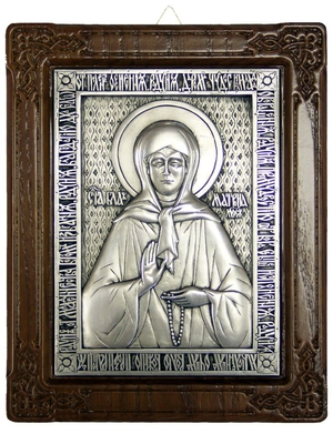 Icon of Blessed Matrona of Moscow