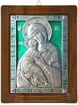 Icon of the Most Holy Theotokos of Vladimir (enameled)