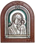 Icon of the Most Holy Theotokos of Kazan (enameled)