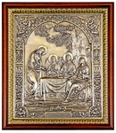 Icon of the Most Holy Trinity (silver-gilding)