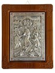 Icon of Resurrection of Christ (silver-gilding)