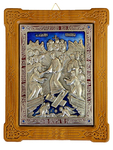 Icon of Resurrection of Christ (enameled)