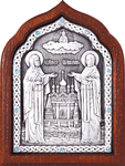 Icon - Holy Venerable Princes Peter and Thebroniya - A67-2