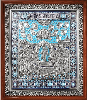 Icon Dormition of the Most Holy Theotokos - A68-3