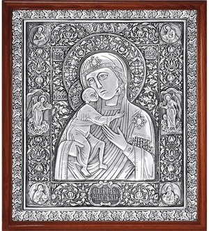 Icon of the Most Holy Theotokos of Theodorov - A77-1