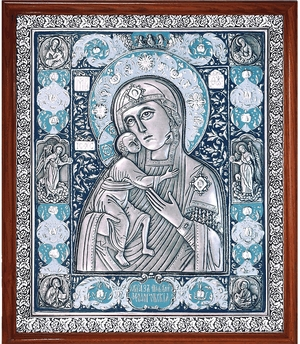 Icon of the Most Holy Theotokos of Theodorov - A77-3