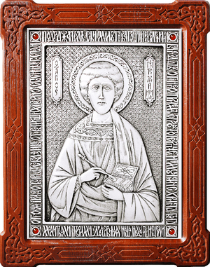 Icon of Holy Great Martyr and Healer Pantheleimon