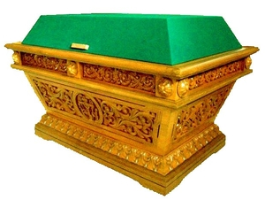 Church furniture: Tomb for epitaphios (shroud) - 3