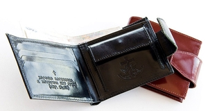 Genuine leather wallet - 1