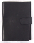 Genuine leather driver's wallet with button - 2