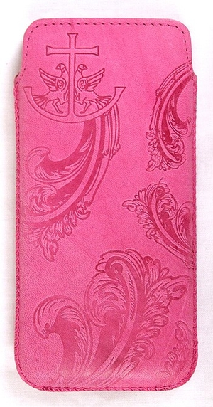Genuine leather cover for mobile phone - 2