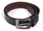 Natural leather belt with prayers S24