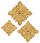 Hand-embroidered crosses - D100