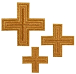 Hand-embroidered crosses - D110