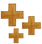 Hand-embroidered crosses - D112