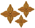 Hand-embroidered crosses - D114