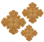 Hand-embroidered crosses - D116