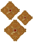 Hand-embroidered crosses - D117