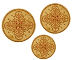 Hand-embroidered crosses - D118