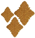 Hand-embroidered crosses - D120