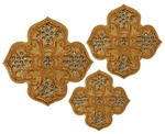Hand-embroidered crosses - D124